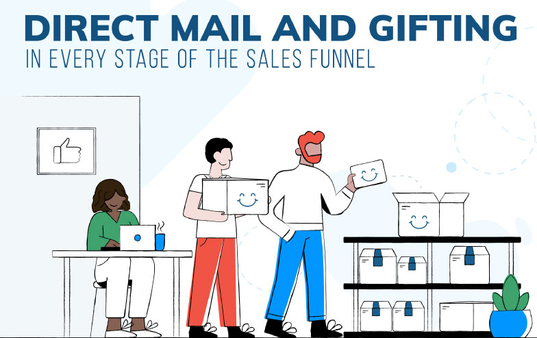 Ebook - Direct mail and gifting in every stage of the sales funnel